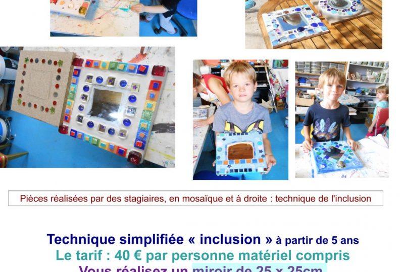 Stage de mosaïque joyeuse à La Laupie - 2