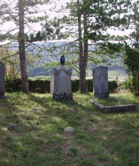 Tombe d'Alexis Muston à Bourdeaux - 0