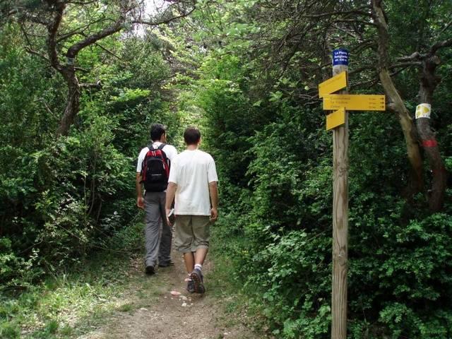 itinéraires pédestres balisés sur le Pays de Dieulefit-Bourdeaux