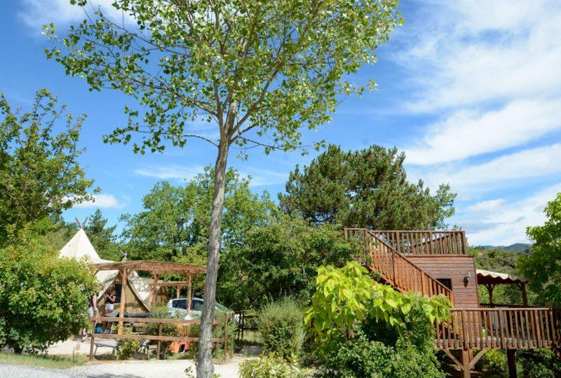 Camping les Bois du Chatelas à Bourdeaux - 5
