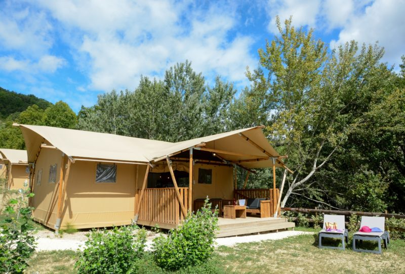 Camping les Bois du Chatelas à Bourdeaux - 3