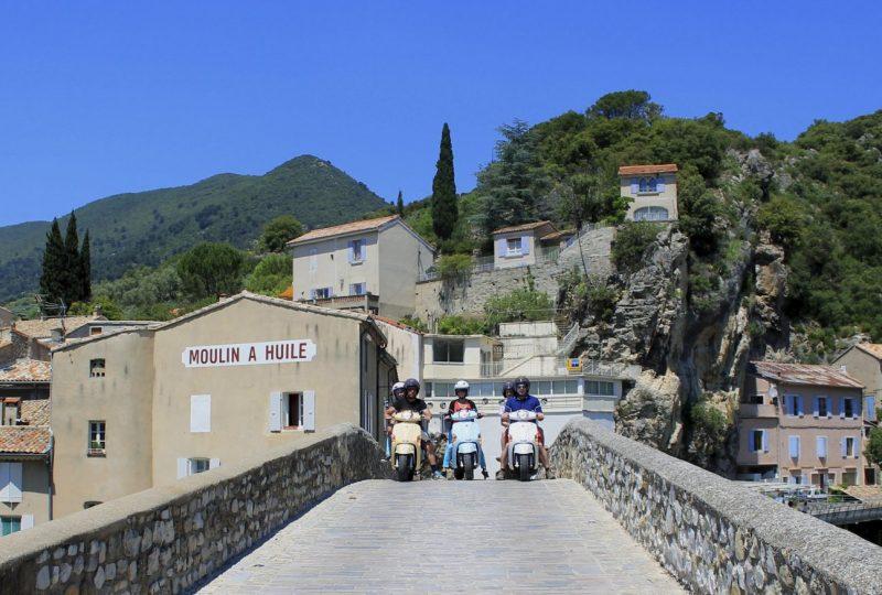 Vagabondage en scooter : Aventure Robinsone Insolite en Drôme provençale à Marsanne - 0