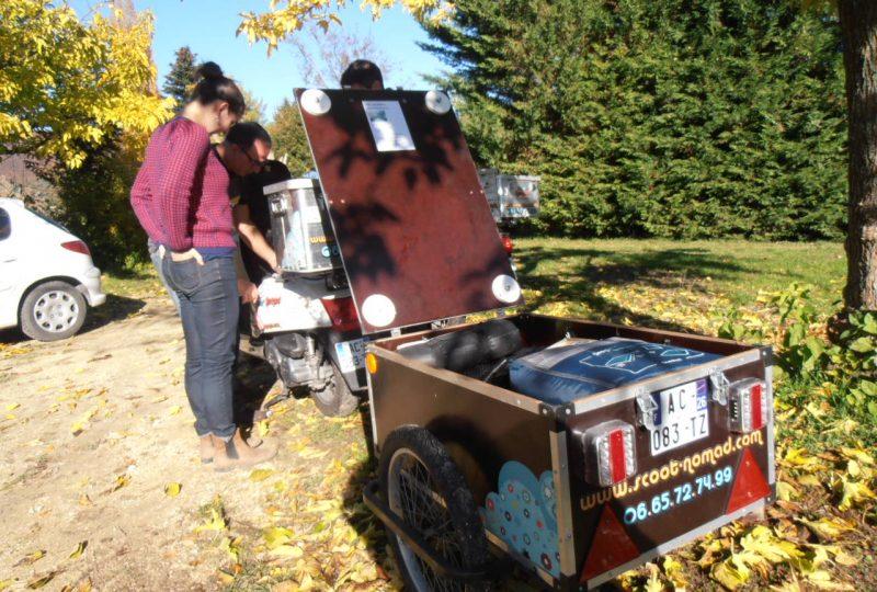 Vagabondage en scooter : Aventure Robinsone Insolite en Drôme provençale à Marsanne - 4