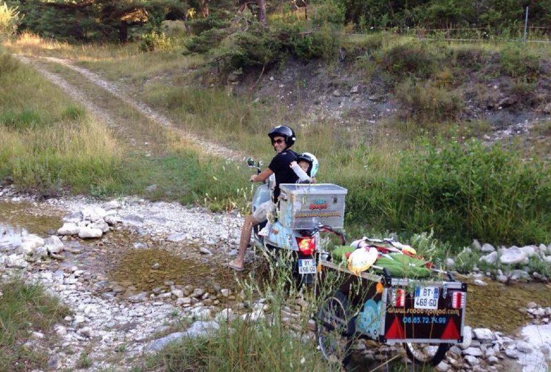 Vagabondage en scooter : Aventure Robinsone Insolite en Drôme provençale à Marsanne - 5