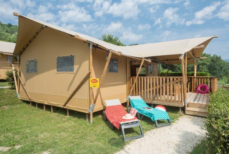 Camping Yelloh Village le Couspeau à Le Poët-Célard - 2