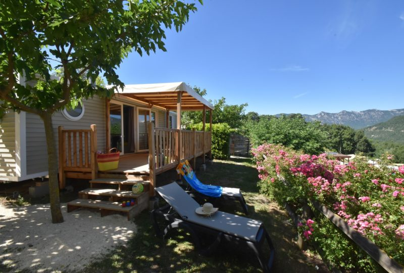 Camping Yelloh Village le Couspeau à Le Poët-Célard - 1