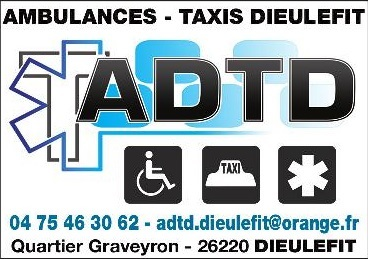 ADTD Ambulances et Taxis à Dieulefit - 0