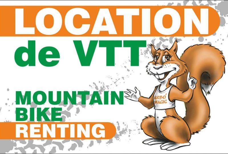 Location VTT et VTT électrique avec Arbo'Magic à Menglon - 0