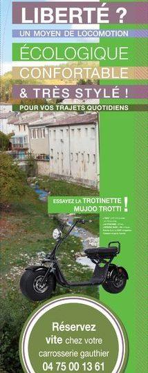 Location de trottinettes électriques à Dieulefit - 0