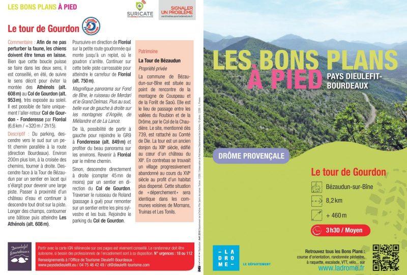 Bezaudun sur Bîne : Le Tour de Gourdon à Bézaudun-sur-Bîne - 0