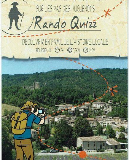 Rando quizz à Bourdeaux - 0