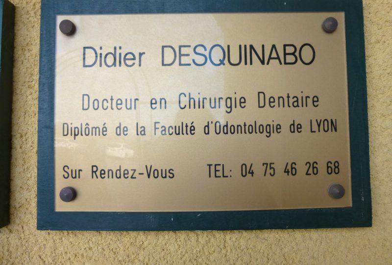 Desquinabo Didier – Dentiste à La Bégude-de-Mazenc - 0