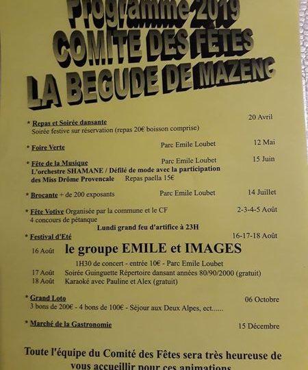 Fête votive – Fête Foraine à La Bégude-de-Mazenc - 0