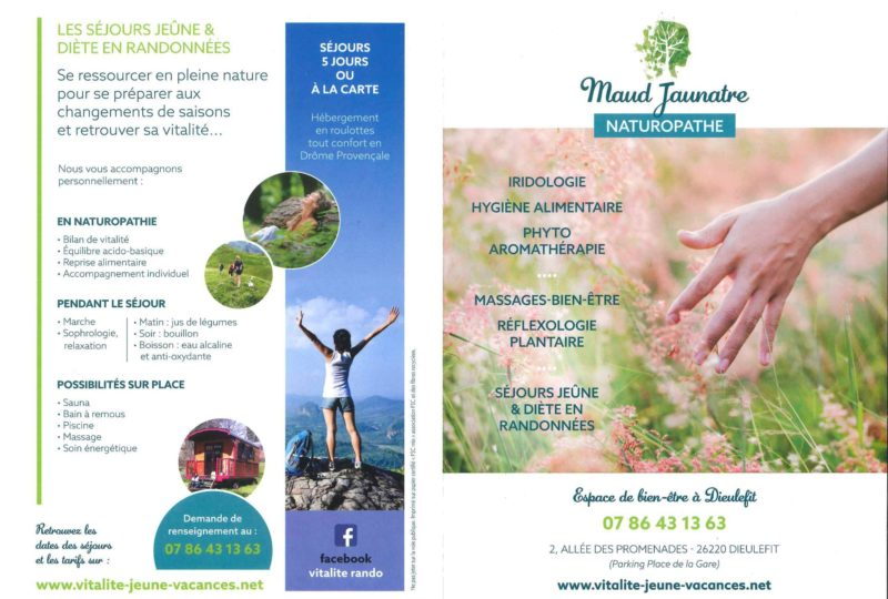 Maud Jaunatre, Naturopathie, Massages- bien-être, Réflexologie plantaire à Dieulefit - 0
