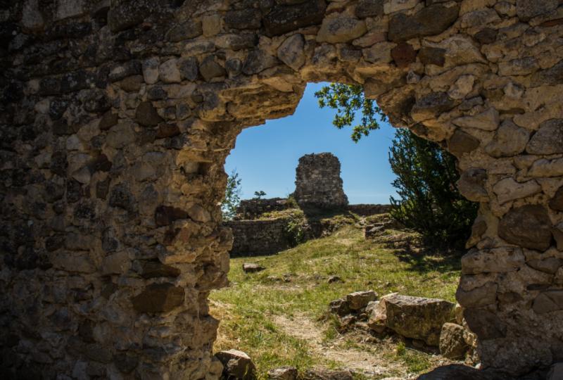 Le château de Rochefort, site médiéval à Rochefort-en-Valdaine - 0