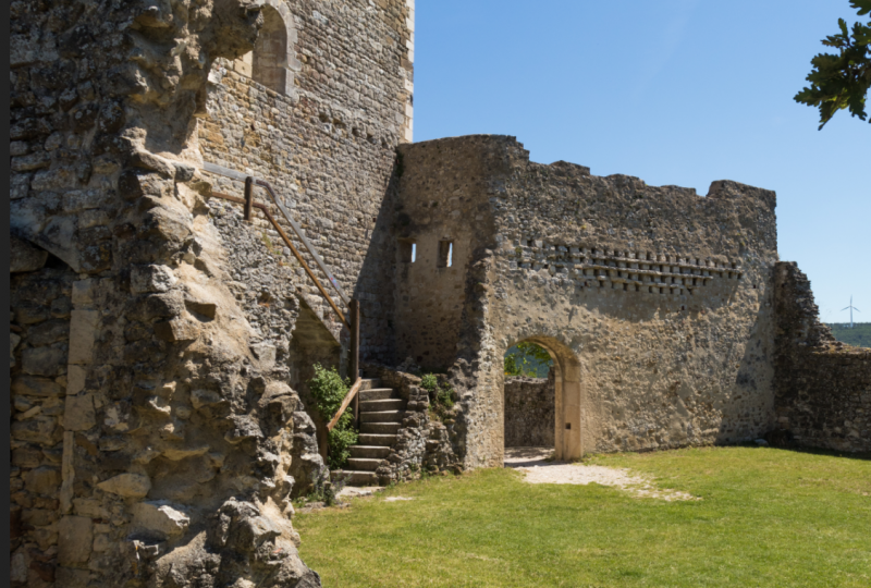 Le château de Rochefort, site médiéval à Rochefort-en-Valdaine - 1