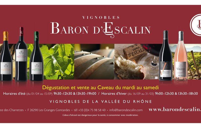 Vignobles Baron d'Escalin à Les Granges-Gontardes - 0