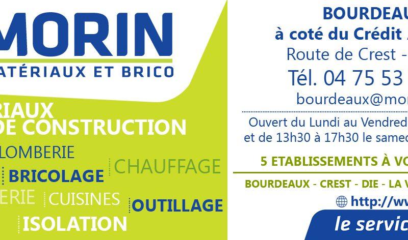 Morin Matériaux et Brico à Bourdeaux - 2