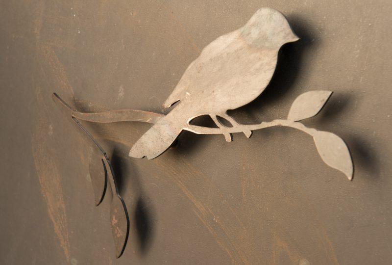 L'Oiseau sur sa branche à Saoû - 3
