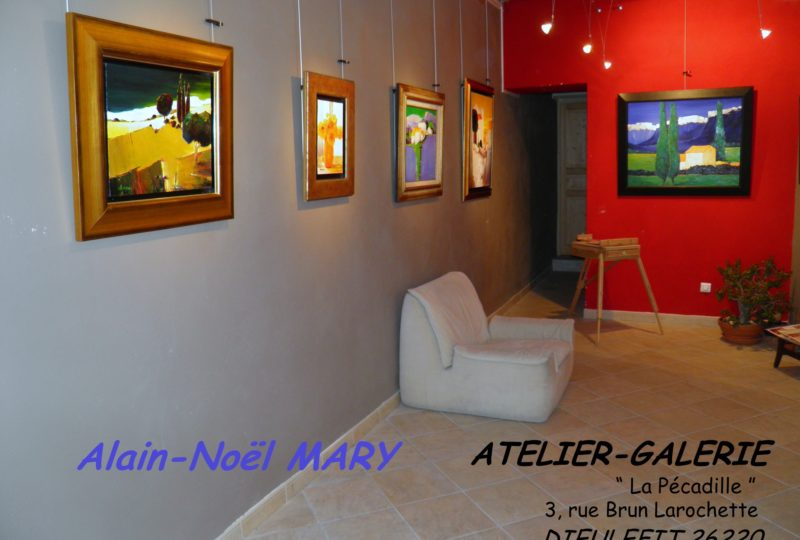 Atelier Galerie Alain Noël Mary à Dieulefit - 2
