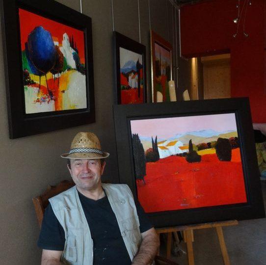 Atelier Galerie Alain Noël Mary à Dieulefit - 0