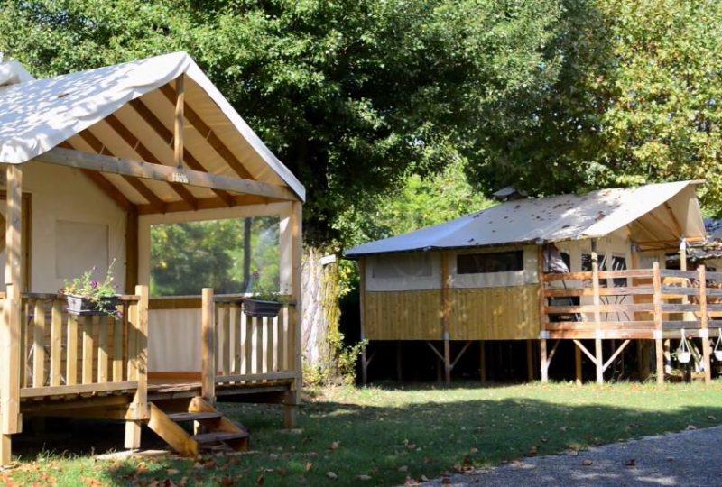 Camping Gap des Tortelles à Bourdeaux - 1