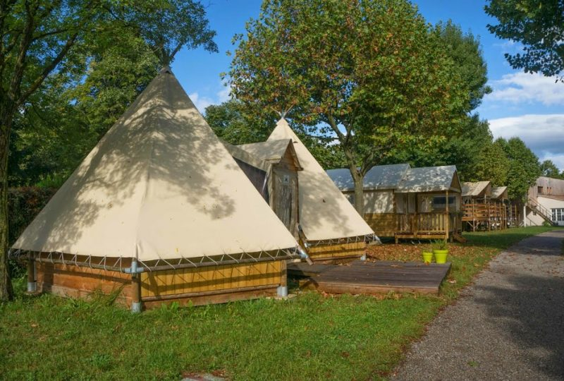 Camping Gap des Tortelles à Bourdeaux - 2