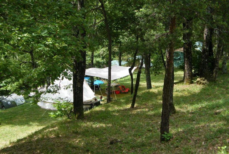 Camping les Châtaigniers à Eyzahut - 3