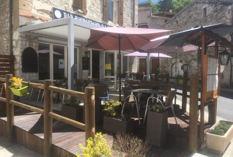 Bar-Restaurant  La Paillette à Montjoux - 2