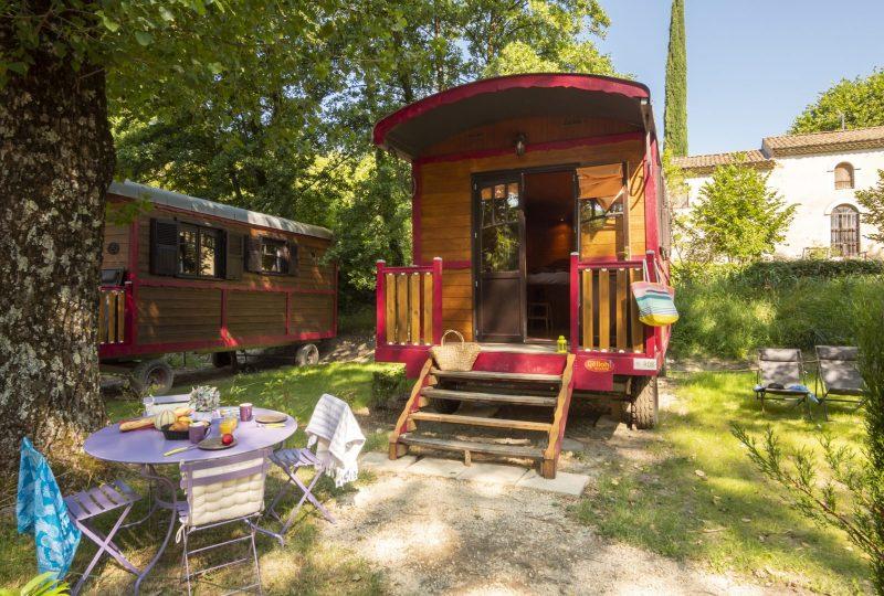 Camping Domaine Provençal à Dieulefit - 9