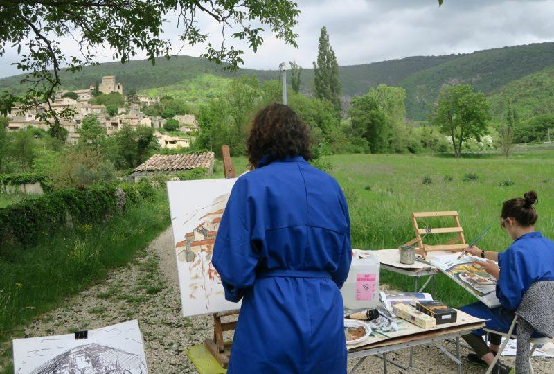 Stages paysages / Nadine Nacinovic à Salettes - 1