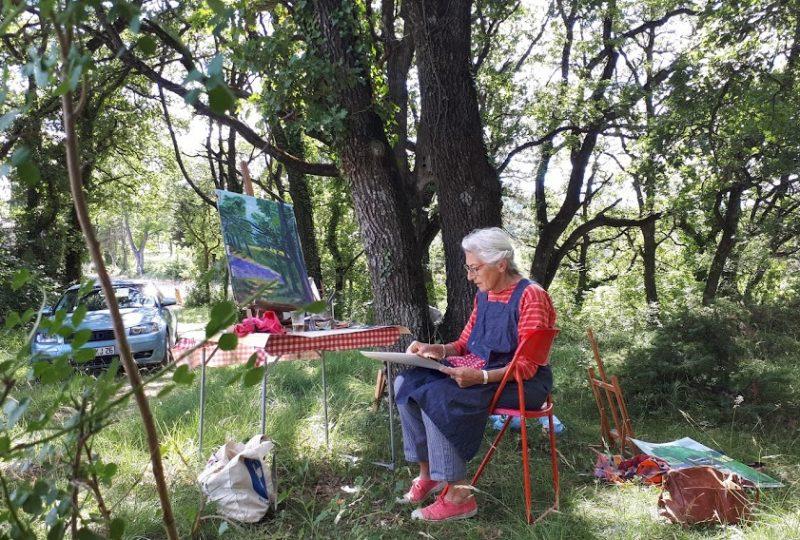 Stages paysages / Nadine Nacinovic à Salettes - 9