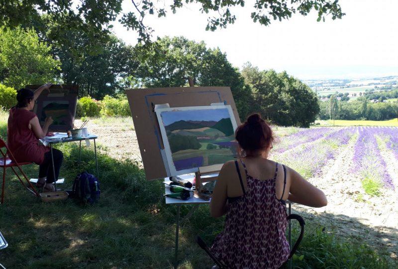 Stages paysages / Nadine Nacinovic à Salettes - 11