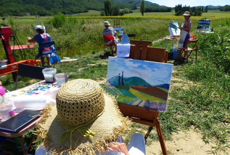 Stages paysages / Nadine Nacinovic à Salettes - 0