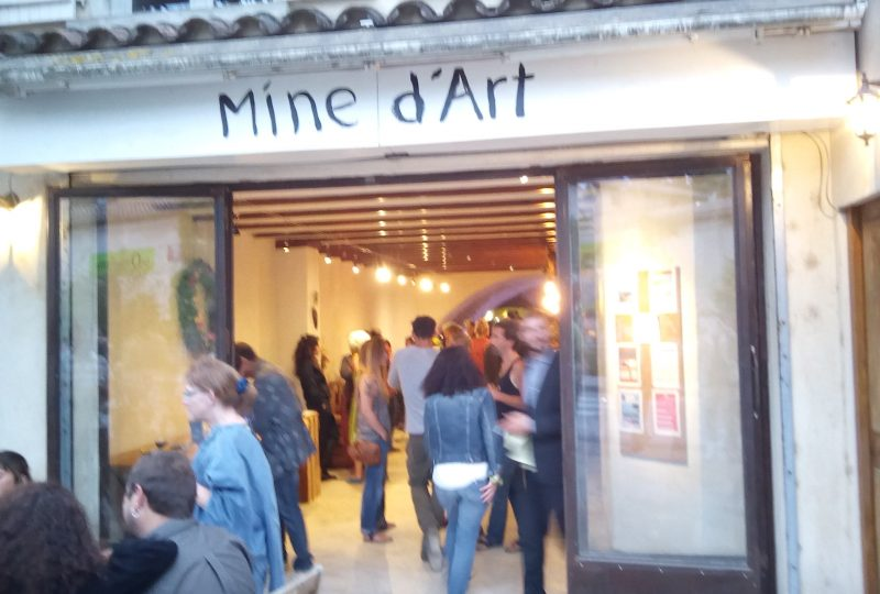 Mine d'art : Café associatif à Dieulefit - 1